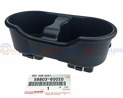 Genuine Centre Console Lid Cup Drink Holder Toyota Landcruiser 100 Series