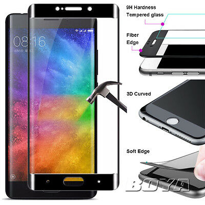 For Xiaomi Mi 5s tempered glass screen protector+Soft edge 3D curved full screen