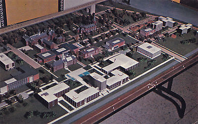 Scale Model Future Campus University of WINDSOR Ontario Canada Postcard
