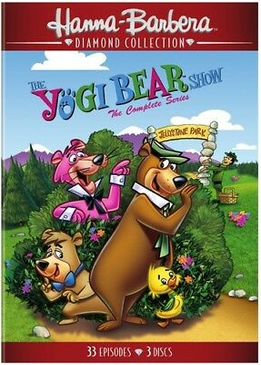 The Yogi Bear Show: The Complete Series [New DVD] 3 Pack, Amaray Case, Repacka