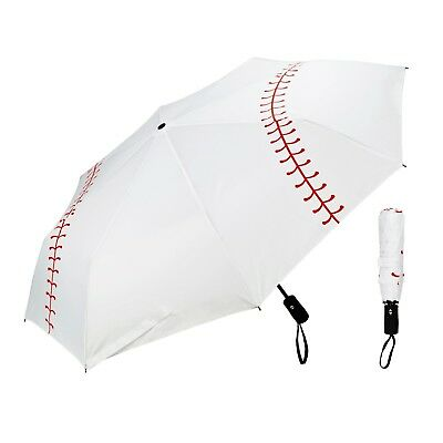 New Baseball Umbrella Collapsible Travel Tri-fold FREE SHIPPING