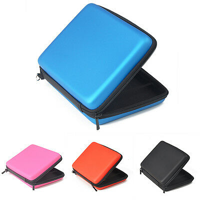 UK 1X Hard Protective Carry Storage Case Cover With Zip for Nintendo 2DS Durable