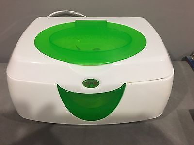 Pre-owned Munchkin Warm Glow Wipe Warmer tested works green