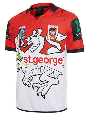 St George ILL Dragons NRL 2017 ISC Auckland Nines 9s Jersey Adults & Kids Sizes!