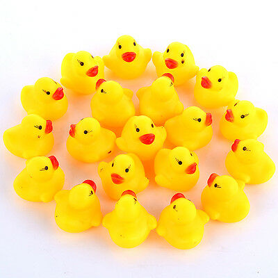 Bathtime Rubber Duck Bath Toy Squeaky Water Play Kids Toddlers Toy Yellow