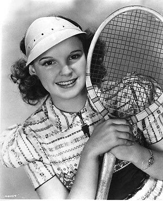 JUDY GARLAND tennis cutie    8X10 PHOTO wizard