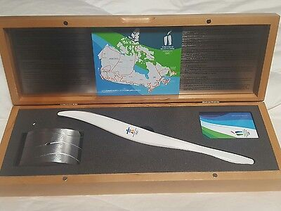 Vancouver 2010 Winter Olympics Olympic Torch Replica Birks Brand New in Box MINT
