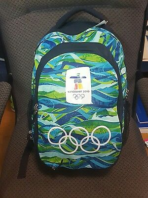 Vancouver 2010 Game Olympics BNWT Offical Volunteer Backpack! Rhory Back Pack