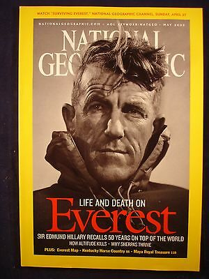 National Geographic - May 2003 - Everest