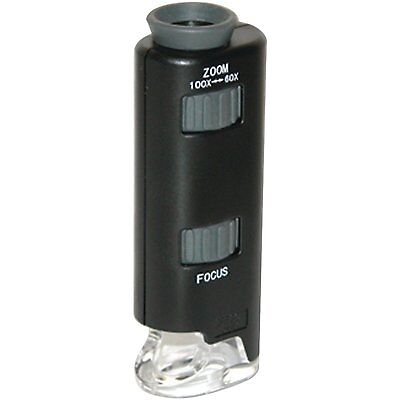 Carson 60X-100X MicroMax LED Lighted Pocket Microscope MM-200