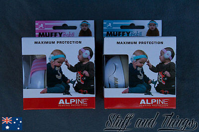 Alpine Hearing Protection for Babies and Toddles - Muffy Baby Earmuffs *NEW*