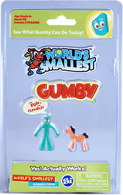Worlds Smallest Gumby Worlds Smallest Toy