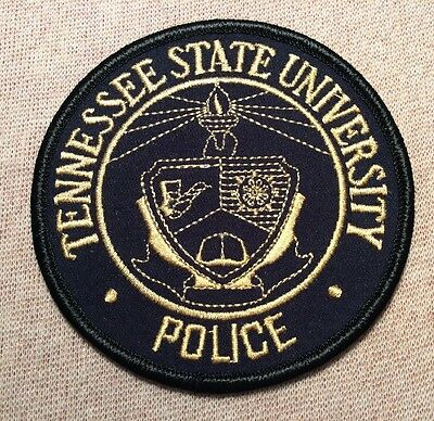 TN Tennessee State University Police Patch