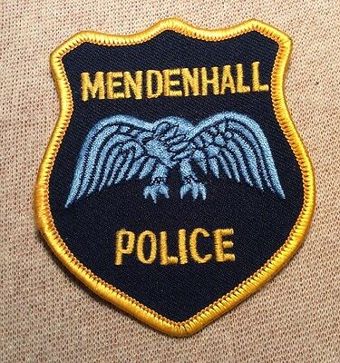 MS Mendenhall Mississippi Police Patch (3.5In)