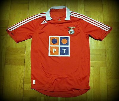 Benfica Adidas shirt maglia 2007 / 2008 S Very Good Conditions