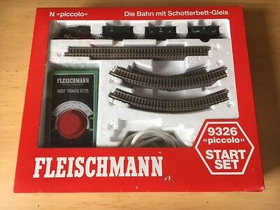 Fleischmann N Guage Piccolo Starter Set 9326 In Original Box Excellent Condition