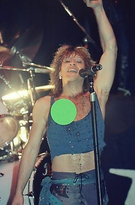 Jon Bon Jovi 4 - 4X6 Color Concert Photo Set #15A
