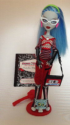 Monster High Puppe / Ghoulia Yelps / 1. Wave / erste Serie