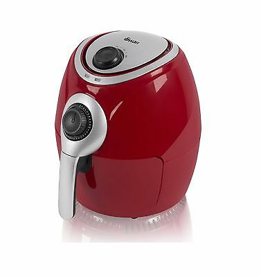 Swan SD90010REDN 3.2Ltr Low Fat Air Fryer in Red - Brand New 2 Years Guarantee