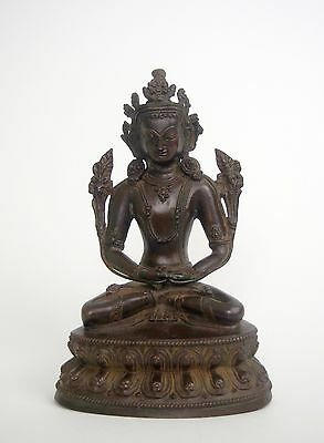 A Bronze Figure of Seated Amitayus