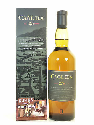 Caol Ila 25 Jahre Islay Single Malt Scotch Whisky 0,7l, alc. 43%