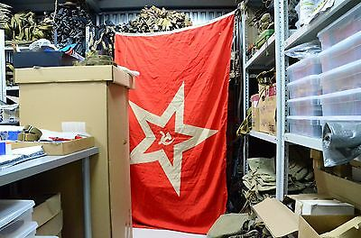 Big Military USSR Maritime flag, Naval Jack of the Soviet Navy submarine