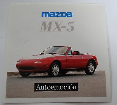 Aufkleber MAZDA MX-5 Typ NA Roadster 80er Sticker Autocollant Decal Miata