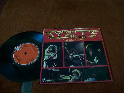 "Y&T - midnight in tokyo  7"" single 1983 A1/B1 u.k press"