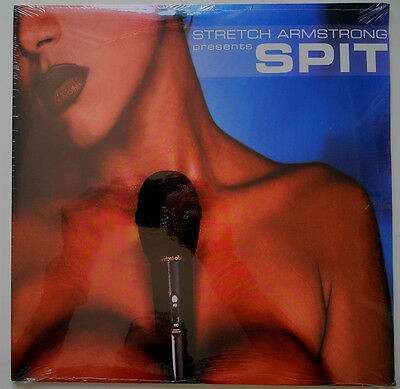 2 x LP US**VARIOUS - STRETCH ARMSTRONG PRESENTS SPIT (SEALED)***17511