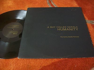 """A GUY CALLED GERALD - humanity 12"""" single 2000"""