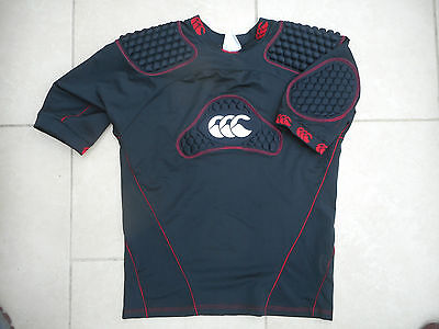 Canterbury Body Armour Protection  Shirt Black /red Mens Large