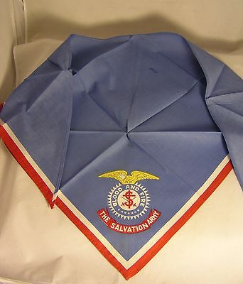 Salvation Army - NECKERCHIEF WITH AMERICAN EAGLE CREST