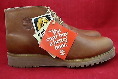 Vintage Timberland Chukka Boots NOS w/ Original Tags Size 11 1/2 W