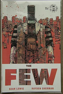 THE FEW #4 (2017) --- FIRST Printing --- Image Comics US - Bagged & Boarded