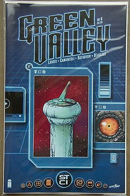 GREEN VALLEY #6 (2016) --- FIRST Printing --- Image Comics US - Bagged & Boarded