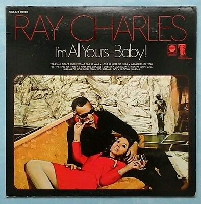 Ray Charles ~ I'm All Yours Baby ~ 1969 Us 10-Track Lp Record ~ Abc Abcs-675
