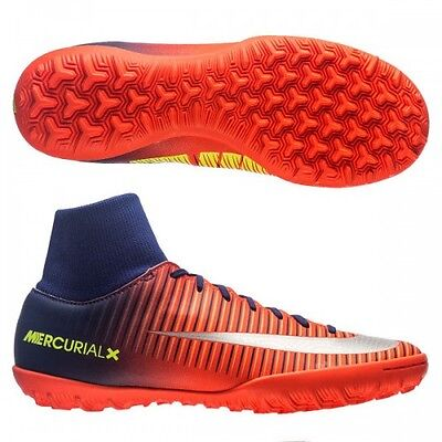 detailed look 1c56a 7806f Scarpe da calcetto Nike Mercurialx Victory DF TF 903614 409 arancio -blu-argento