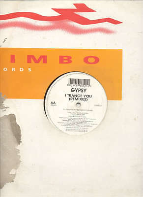 GYPSY - I TRANCE YOU Remixes 1996 EX++ LIMBO MIX 12""
