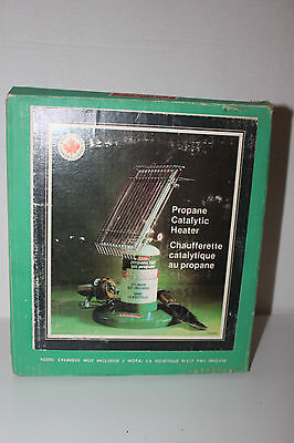 Coleman Canada Model 5446-901 3000 Btu Catalytic Propane Heater Plus Box 02 1980
