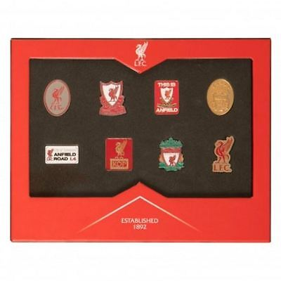 Liverpool Official Emblems Badge Set Boxed - Brand New