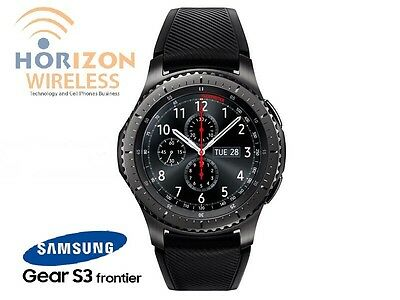 Samsung Gear S3 Frontier SM-R765A LTE Smart Watch For IPhone IOS, Android