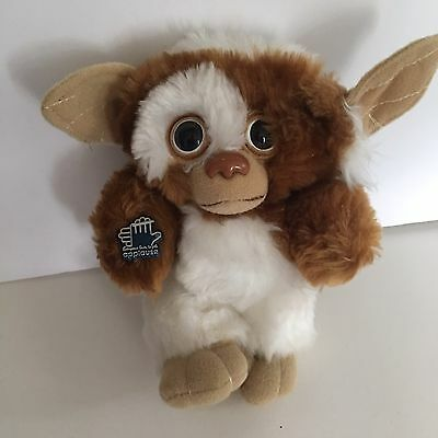 Vintage Applause Gremlin Plush Gizmo 1984 With Applause Tag Tan White