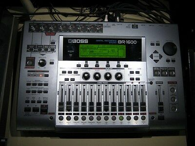BOSS's BR-1600CD 16-track recorder