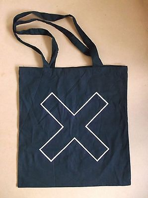 THE XX I See You 2017 UK promo only black 100% cotton tote bag