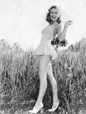 Priscilla Lane Barn Ranch Leggy Cheesecake    8X10 Photo  44