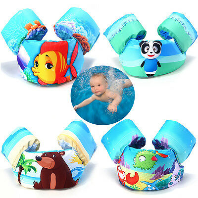 Swim Discs Foam Arm Vest Bands Float for swimming baby kids children 2-7 Years
