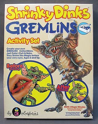 1984 GREMLINS Colorforms Shrinky Dinks #2113 MINT in factory sealed box MIB