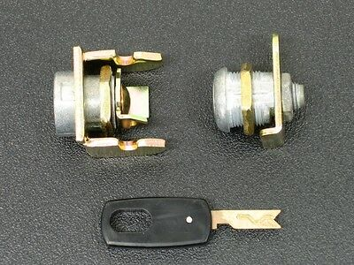 PAIR of NEW LOCK ASSEMBLIES and a NEW MATCHING KEY, for a Duncan Parking Meter