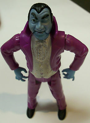 Vintage The Real Ghostbusters Monster Dracula Toy Figure 1989 Loose