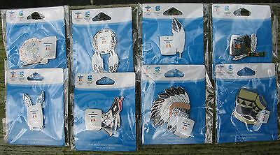 ABORIGINAL DESIGN SERIES SET 5 Pins AUTHENTIC Vancouver 2010 Winter Olympic PIN